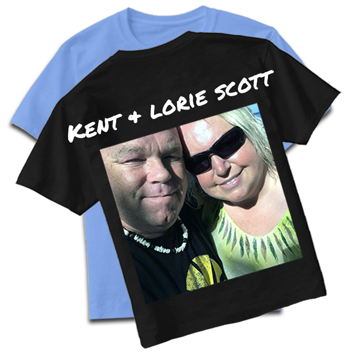 Inked Custom Clothing Owners Kent and Lorie Scott